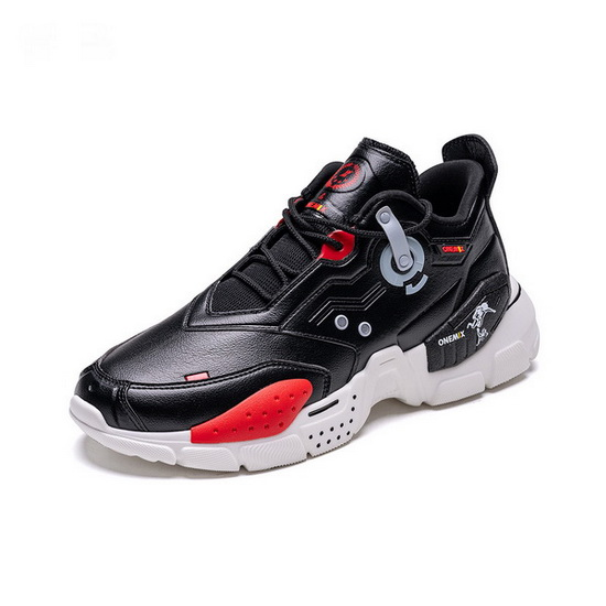 Black/White Astros Men's Sneakers ONEMIX Lifestyle Women's Shoes
