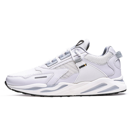 White/Silver Wild Women's Shoes ONEMIX Running Men's Dad Sneakers