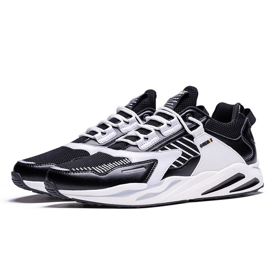 White/Black Wild Sneakers ONEMIX Breathable Men's Dad Shoes