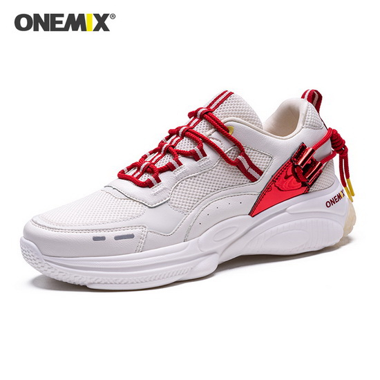 Ivory White Travel Women's Shoes ONEMIX Outdoor Men's Dad Sneakers