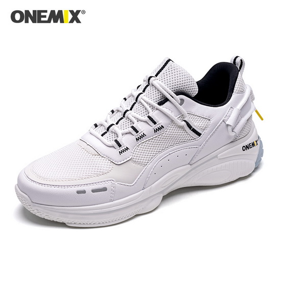 White Travel Women's Sneakers ONEMIX Sport Men's Dad Shoes