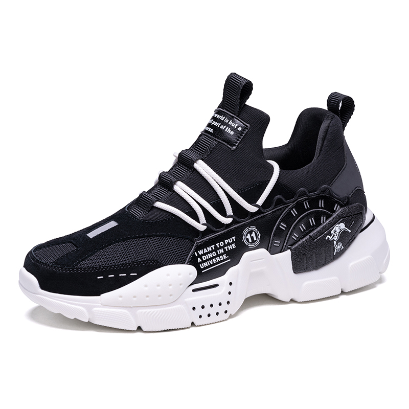 Black/White Odyssey Men's Shoes ONEMIX Women's Walking Sneakers