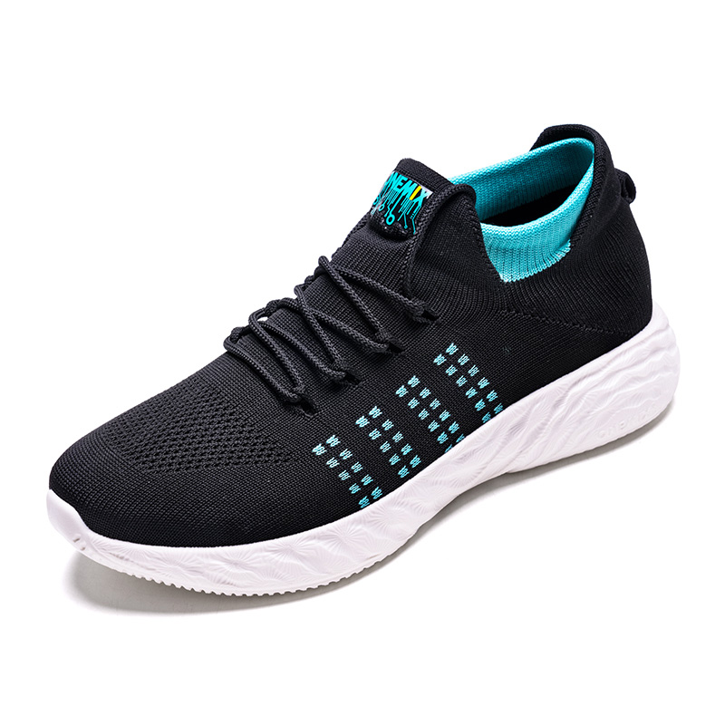 Black/Green Harrier Mesh Shoes ONEMIX Men's Comfortable Sneakers