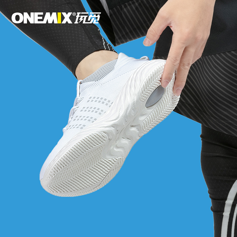 White Harrier Women's Sneakers ONEMIX Men's Outdoor Shoes