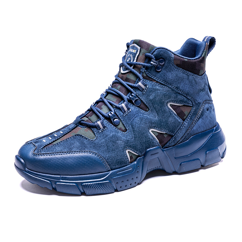 Dark Blue Tornado Outdoor Shoes ONEMIX Men's Lightweight Boots