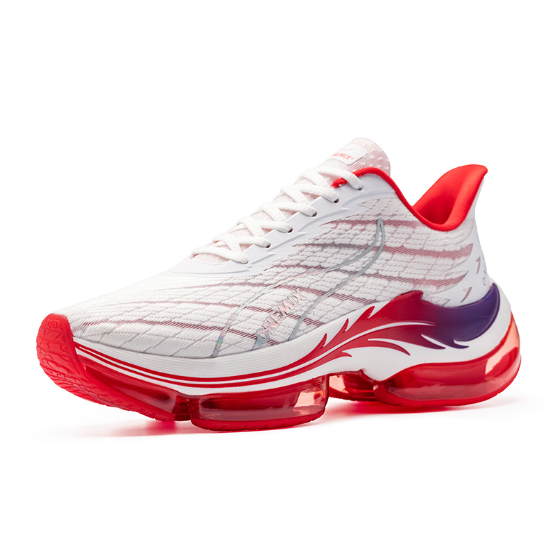 White/Red Phoenix Men's Shoes ONEMIX Women's Running Sneakers