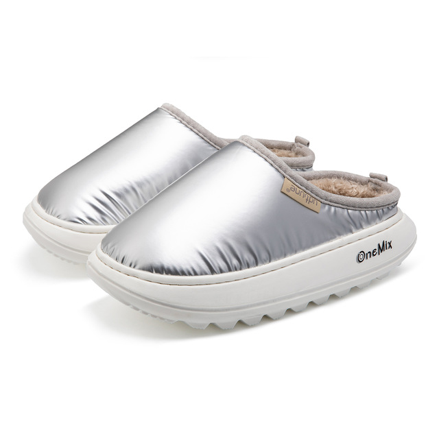 Silver Bruin ONEMIX Women's Cotton Sandals Shoes