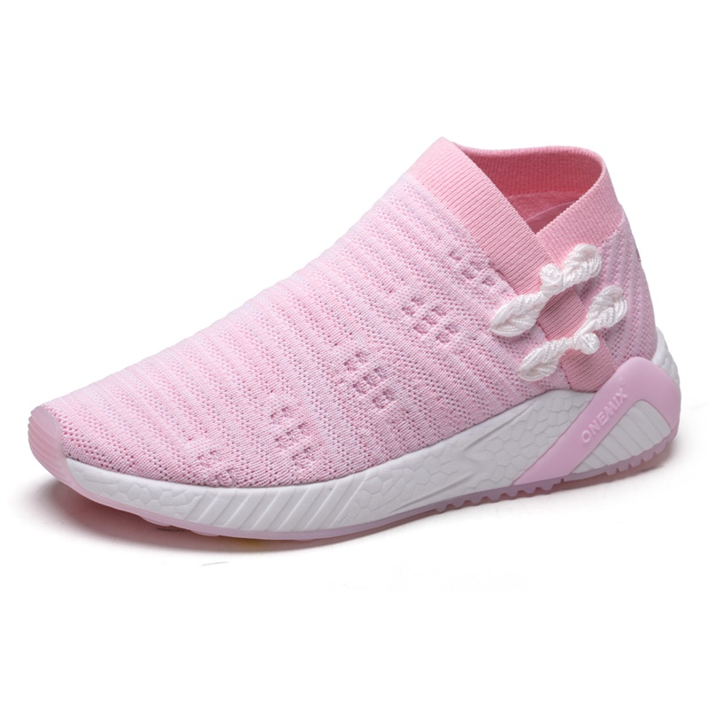 Pink Swallow Shoes ONEMIX Kids Outdoor Sneakers
